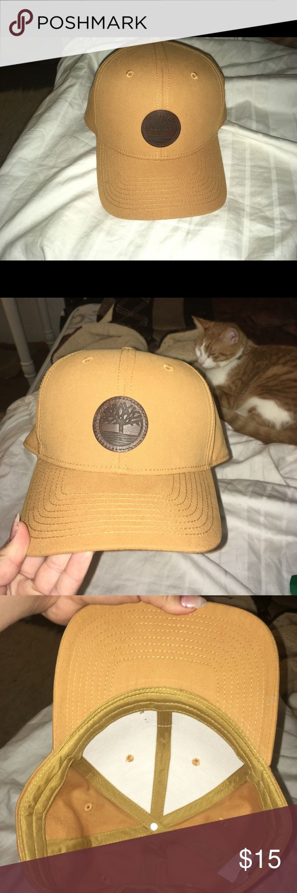 TIMBERLAND HAT Timberland hat  Clean , no stains no flaws perfect conditions  Mustard color  Super cute Timberland Accessories Hats