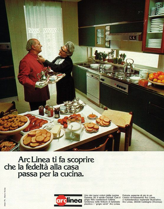 Arclinea advertisement from '70