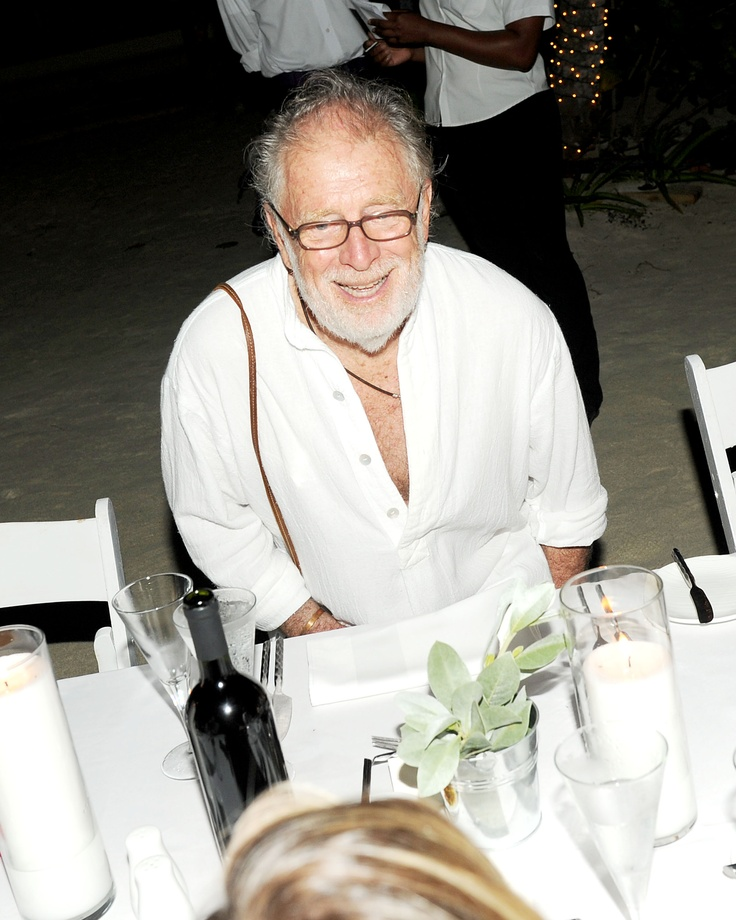 Chris Blackwell GoldenEye and HAUTE HIPPIE Beachside Dinner Party hosted by Chris Blackwell, Trish Wescoat Pound & Jesse Cole courtesy of Billy Farrell Agency #hautehippie #HippiesatGoldenEye #BFA