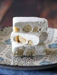 Lemon myrtle and macadamia nougat | www.bellyrumbles.com