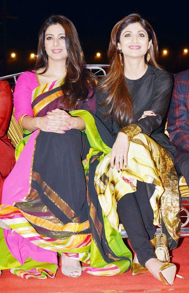 Tabu and Shilpa Shetty
