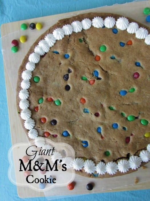 Giant M&M Cookie and All You Magazine - Call Me PMc