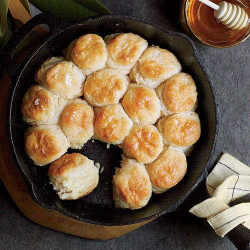 Angel Biscuits - one of the top Southern Living pins of 2014.  Dough can be made & refrigerated for up to 5 days.