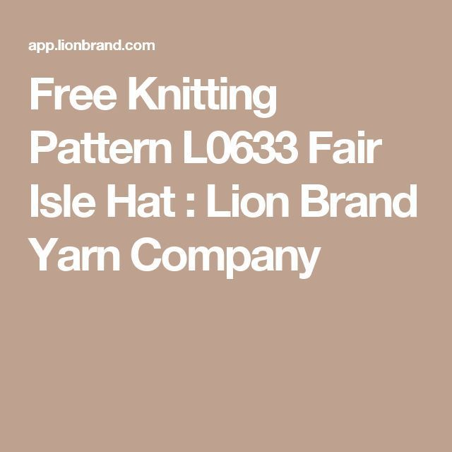 The 786 Best Knitting Patterns For Baby Lion Brand Images On