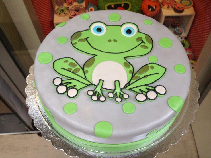 Τούρτες Γενεθλίων - Βάτραχος! #sugarela #TourtesGenethlion #vatraxos #frog #BirthdayCakes
