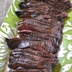 Balsamic flank steak | Let's Share Recipes | Pinterest
