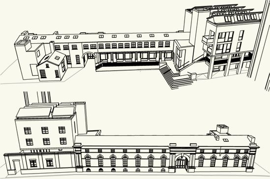 tower works leeds drawing.