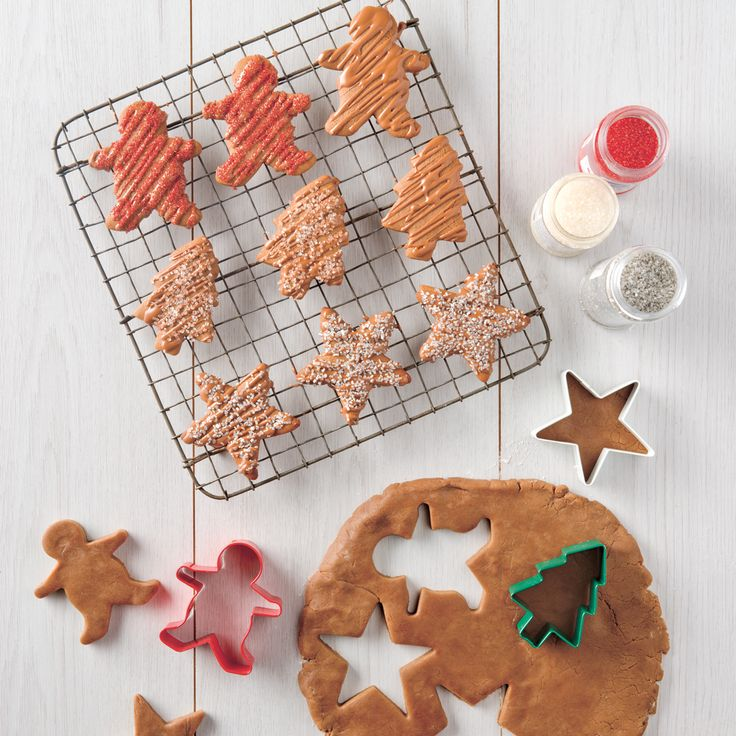 Haigh's Chocolate Gingerbread. This delicious Chocolate Gingerbread is great fun to make with the kids these holidays.