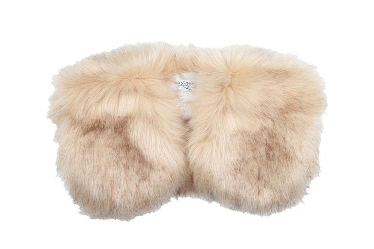 Bridesmaids faux fur bolero. £45 by Blanche in the Brambles.