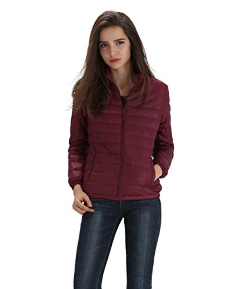 Vero Viva Women Lightweight Packable Short Down Jacket Outwear Puffer Down Coat - Brought to you by Avarsha.com
