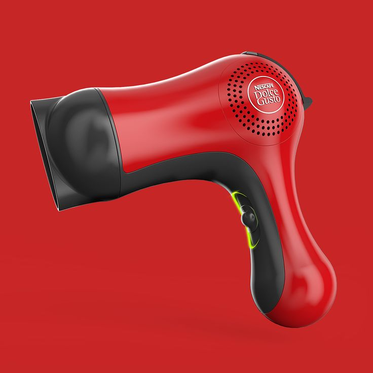 Dolcegusto X Hairdryer on Behance