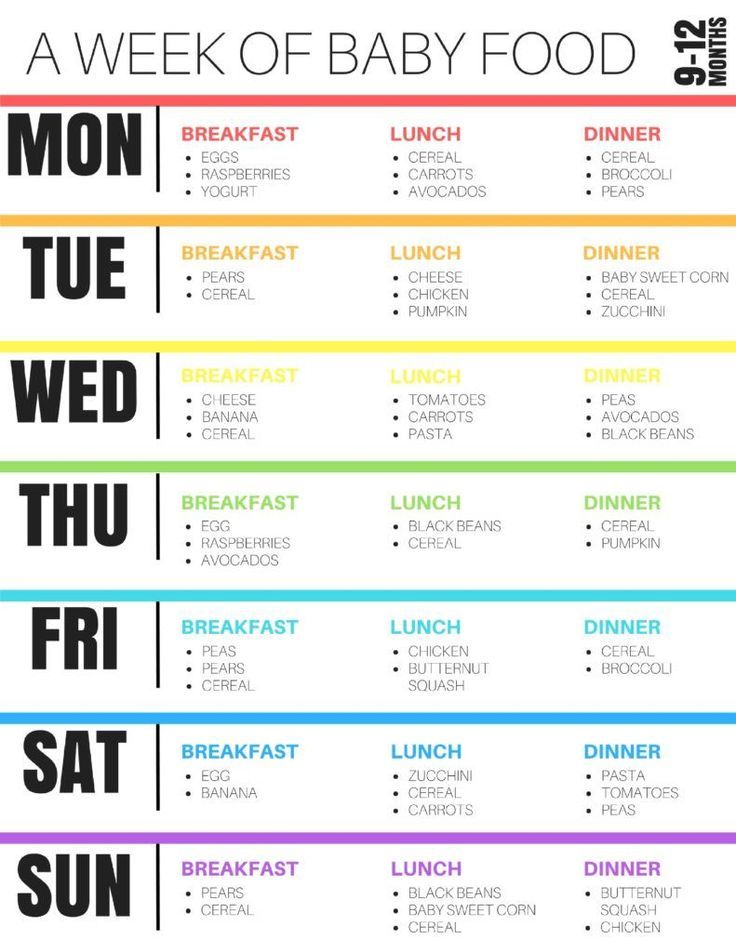 Feeding Adelaide: 9-12 month Sample Baby Feeding Schedule by Boston mom blogger Elisabeth McKnight