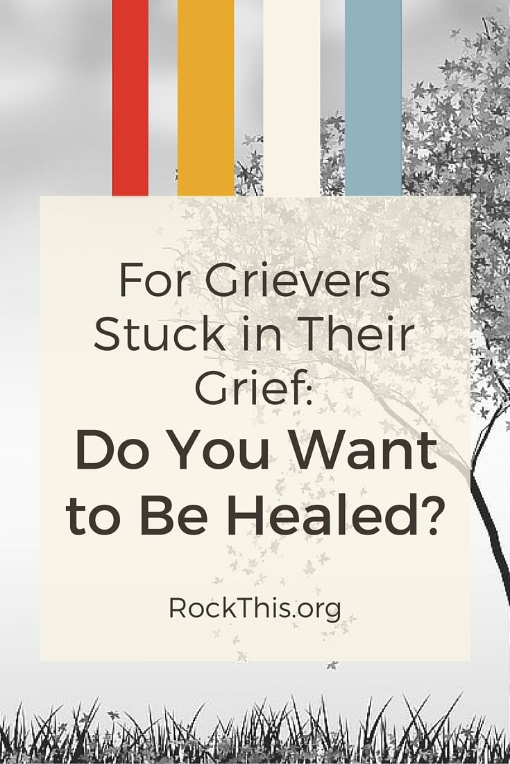 Are you stuck in your grief? Has pain and sadness taken over your daily living? You don't have to live that way anymore. Here is biblical truth from a fellow griever.