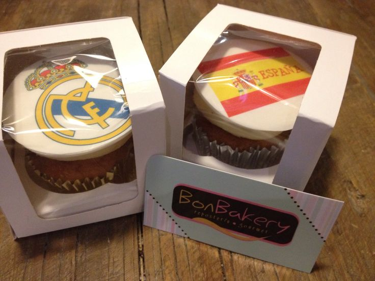 Bonbakery cupcakes España & Real Madrid