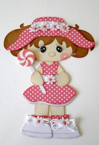 girl in polka dots