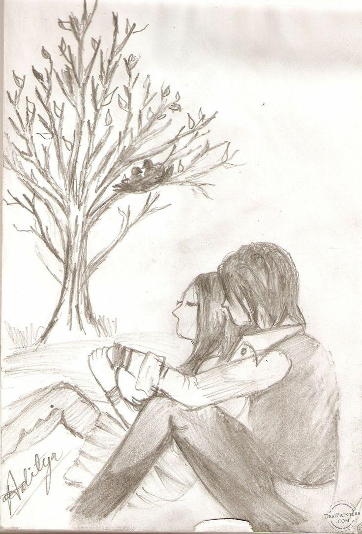Emo Heart Drawings