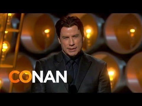 John Travolta's Idina Menzel Flub Has A Silver Lining