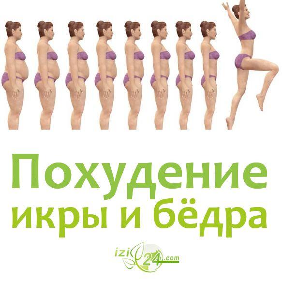 Упражнения для сброса веса на ногах, икрах и бёдрах    Заставляя на тренировках напрягаться мышцы ног, мы увеличиваем энергетические расходы организма. Испытывая потребность в энергии, организм начинает расщеплять жировую ткань, так как это самая энергоёмкая ткань организма.    Поэтому тех, кто решил избавиться от лишнего веса в районе бёдер и икр обязательно ждёт успех, но при этом надо запомнить несколько обязательных правил для тренировок, соблюдение которых укоротит путь к стройным…