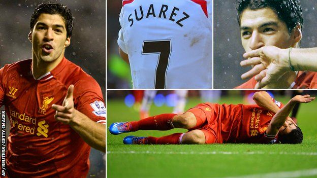 Suarez named PFA Player of the Year