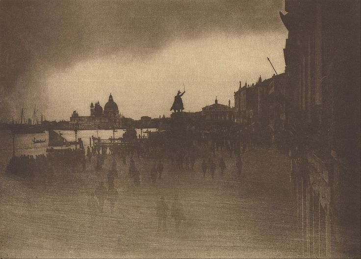 James Craig Annan (Scottish) - The Riva Schiavoni, Venice, 1904.