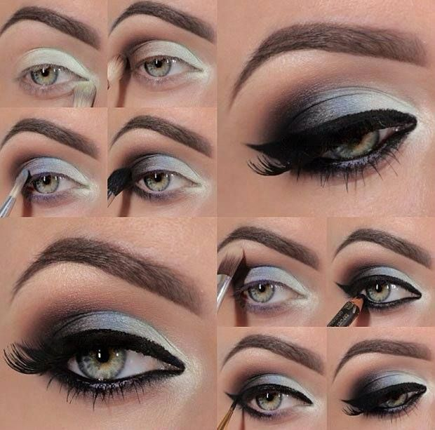 40-amazing-smokey-eyes-makeup-tutorials #diy #makeup #smokey eyes