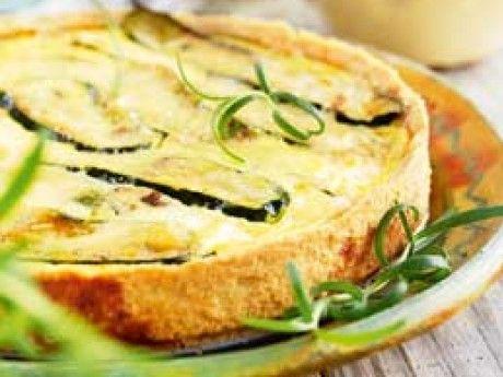 Zucchinipaj Receptbild - Allt om Mat