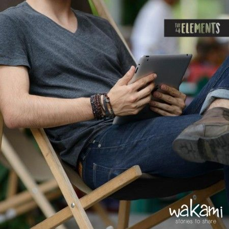 Wakami Bracelets - Men's collection