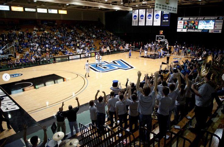 GVSU Fieldhouse Arena - Basketball & Volleyball | Where We ...