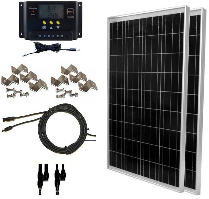 Global Solar Supp... Almost out of these http://www.ciesolarsupply.com/products/global-solar-supply-200-watt-solar-panel-kit-2pcs-100w-solar-panels-30a-lms-pwm-charge-controller-solar-cable-mc4-connectors-mounting-brackets-for-off-grid-rv-boat?utm_campaign=social_autopilot&utm_source=pin&utm_medium=pin