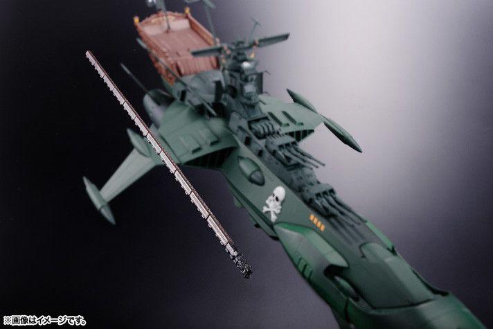 Captain Harlock's Arcadia Ship Gets the Soul of Chogokin Treatment - Interest - Anime News Network