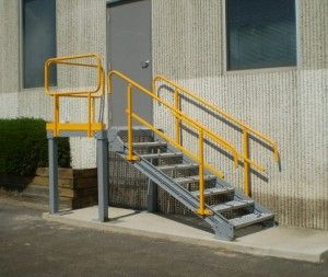8 Interesting Industrial Stair Design Pictures