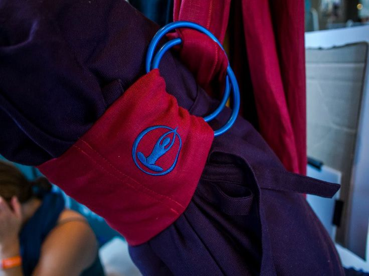 tote your mat in style with a Nova Red Lotus Wrap