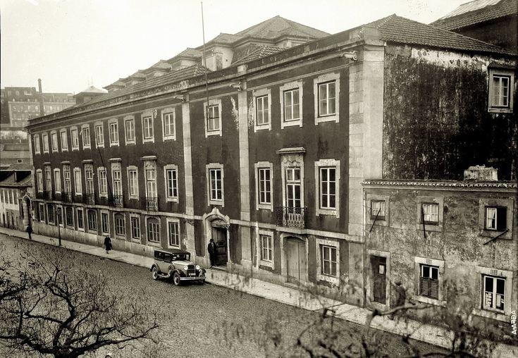 Rua Academia das Ciências, 1927