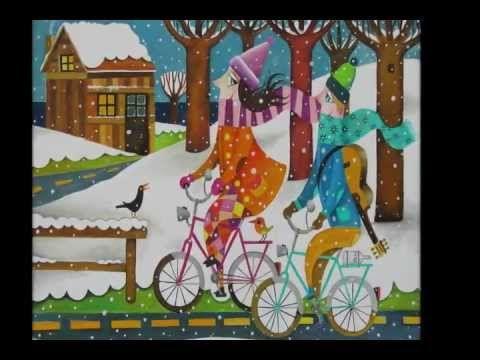 ▶ pinturas de Leandro Lamas, música de Guadi Galego e Guillermo Fernández - YouTube