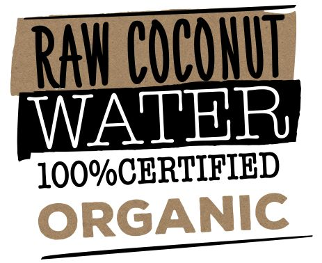 Organic coconut water Genuine Coconut. Green, fresh, natural and healthy. Refreshing organic isotonic energy drink. Whole unprocessed coconut from organic cultivation in Thailand.