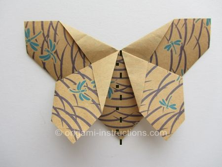origami-matthews-butterfly-step-14. (Same as last pinned butterfly, but shows how to easily cut the paper into a rectangle and how to angle the butterfly into a 3D one.)