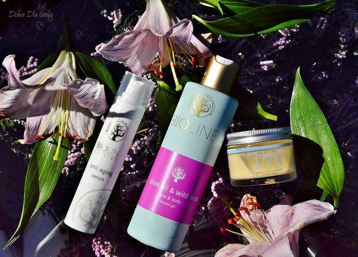 Pielęgnacja twarzy naturalnie - Make Me Bio Receptura 173, Bioline Olive Oil & Wild Rose oraz Serum przeciwzmarszczkowe recenzja