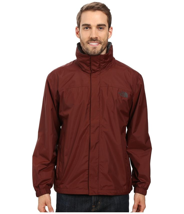 THE NORTH FACE THE NORTH FACE - RESOLVE JACKET (SEQUOIA RED/ASPHALT GREY) MEN'S SWEATSHIRT. #thenorthface #cloth #
