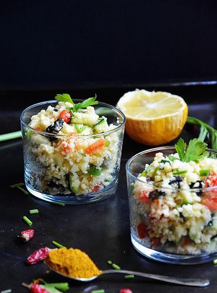 Cous cous de Coliflor, Receta sana, fácil y original para verano | Cocinar en casa es facilisimo.com