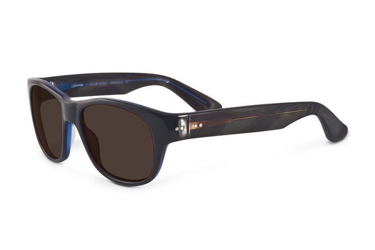 346.00$  Buy here - http://vifuo.justgood.pw/vig/item.php?t=s9jyli38474 - Sama Club 54 Sunglasses 54 BrownBlue 346.00$