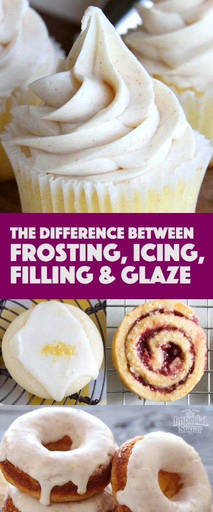 This Sweetalk blog post is all about dessert toppings. Learn about the difference between frosting, icing, filling and glaze and when to use each sweet treat topping for desserts. Learn tips and tricks from the pros including how to make top notch frosting and different varieties of frosting with full recipes. You'll feel like a gourmet baker the next time you bake cupcakes, cakes or cookies!