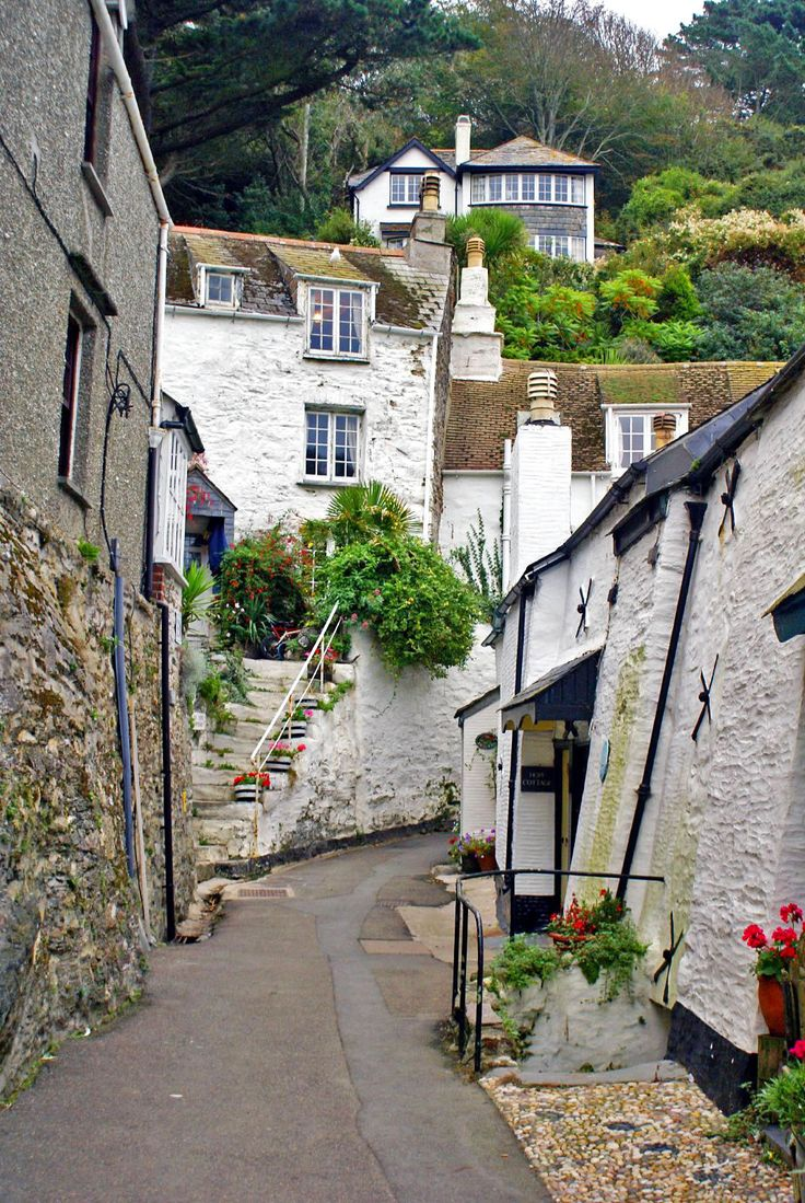 Polperro Cottages, Cornwall, England