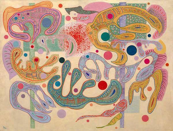 Capricious Form, Wassily Kandinsky, 1937.