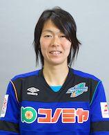 スペランツァFC大阪高槻の選手。DFの平野 聡子