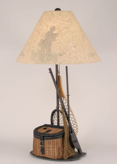 Rustic Cabin Floor Lamps : Best ideas about rustic table lamps on