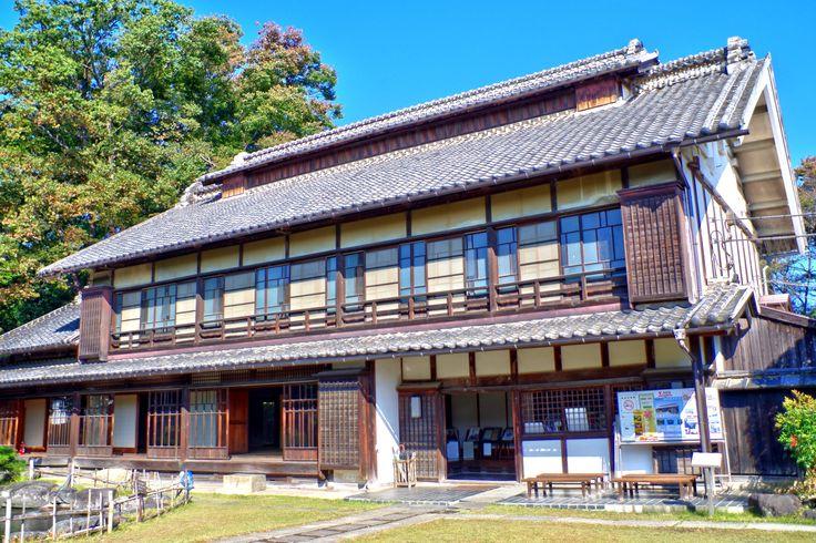 渋沢栄一の旧住まい http://wp.me/p4BDoU-le