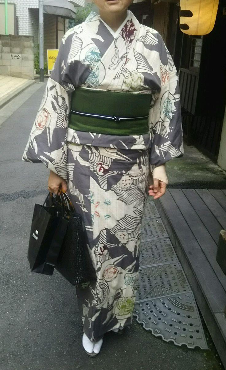 小倉充子作琉球美味図鑑 浴衣