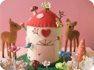 so sweet - Make it Christmasy to go with the deer...
