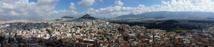 Fotografía: Rebeca Pizarro - Monte Licabetos al fondo - Atenas