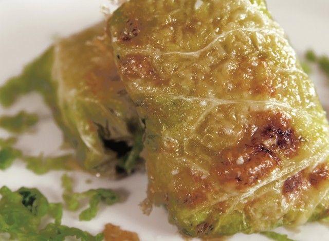 Involtini verza e patate